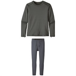 Patagonia Capilene Crewneck Top ​+ Pants - Big Boys'