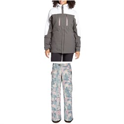 686 Hydrastash® Reservoir Insulated Jacket ​+ 686 Mistress Insulated Cargo Pants - Women's