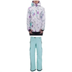 686 Hydra Insulated Jacket ​+ Mistress Insulated Cargo Pants - Women's
