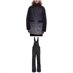 686 Ceremony Insulated Jacket ​+ Black Magic Insulated Overalls - Women's