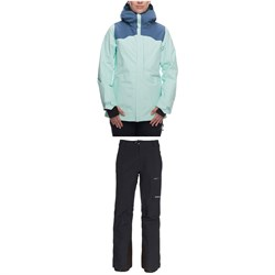 686 GORE-TEX Wonderland Insulated Jacket ​+ GORE-TEX Utopia Insulated Pants - Women's