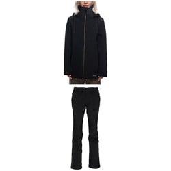 686 Lynx Softshell Jacket + 686 Moto Softshell Pants - Women's