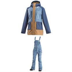 Airblaster Heartbreaker Jacket + Airblaster Hot Bibs - Women's