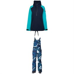 Armada Saint Pullover Jacket + Cassie Overalls - Women's