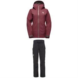 Black Diamond Recon Stretch Ski Shell Jacket + Pants - Women's