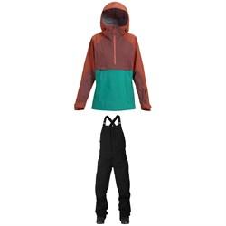 Burton AK 3L GORE-TEX Kimmy Anorak Jacket + Burton AK GORE-TEX Kimmy Bib Pants - Women's
