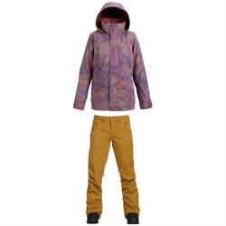Burton Jet Set Jacket + Burton Vida Pants - Women's