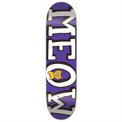 Meow Logo Purple 8.0 Skateboard Deck