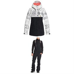 DC Cruiser Jacket ​+ DC Collective Bibs - Women's