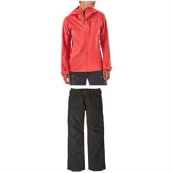 Patagonia Pluma Jacket + Powder Bowl Pants - Women's