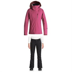 Roxy Down The Line Jacket ​+ Roxy Cabin Pants - Women's