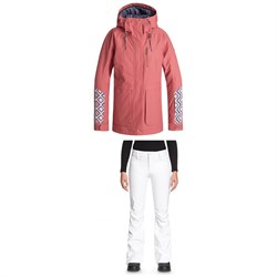 Roxy Andie Jacket - Women's ​+ Roxy Creek Pants - Women's