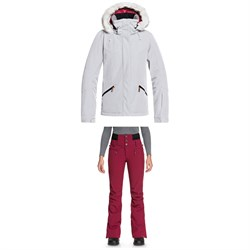 Roxy Atmosphere Jacket ​+ Roxy Rising High Pants - Women's