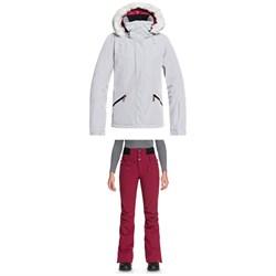 Roxy Atmosphere Jacket + Roxy Rising High Pants - Women's