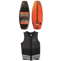 Phase Five Wire Wakesurfer ​+ Phase Five Pro Wake Vest