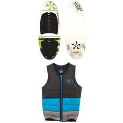 Phase Five Rio Wakesurfer ​+ Phase Five Mens Pro Wake Vest