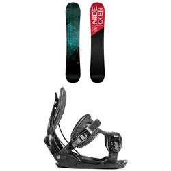 Nidecker Score Snowboard + Flow Alpha Snowboard Bindings 2019