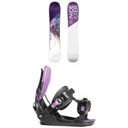 Nidecker Angel Snowboard - Women's + Flow Haylo Snowboard Bindings - Women's 2019