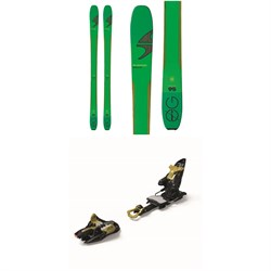 Blizzard Zero G 95 Skis + Marker Kingpin 13 Alpine Touring Ski Bindings