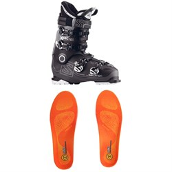 Salomon X Pro 100 Ski Boots ​+ Sidas Winter 3 Feet High Footbeds