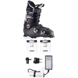 Salomon X Pro 100 Ski Boots + Hotronic FootWarmer S4 Custom Boot Heater