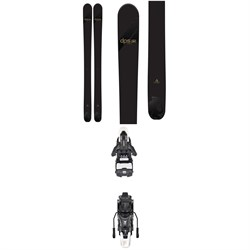 DPS Wailer 110 Alchemist Pro evo SE Skis ​+ Atomic Shift MNC 13 Alpine Touring Ski Bindings 2019