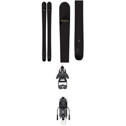 DPS Wailer 110 Alchemist Pro evo SE Skis + Atomic Shift MNC 13 Alpine Touring Ski Bindings 2019
