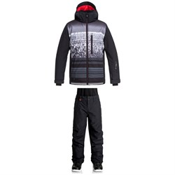 Quiksilver Mission Engineered Jacket ​+ Quiksilver Estate Pants - Boys'