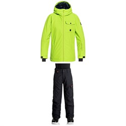 Quiksilver Mission Solid Jacket ​+ Quiksilver Porter Pants - Boys'