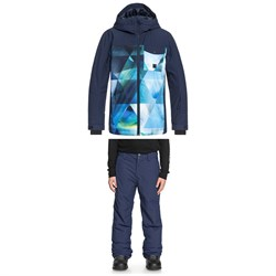 Quiksilver Mission Block Jacket​+ Quiksilver Estate Pants - Boys'