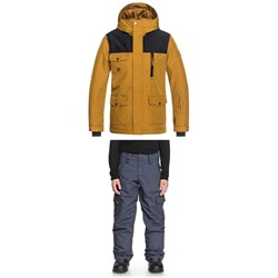 Quiksilver Raft Jacket ​+ Quiksilver Porter Denim Pants - Boys'