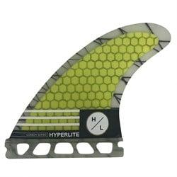 Hyperlite 4.75'' Carbon Surf Fin Set w/ Key