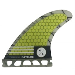 Hyperlite 4.75'' Carbon Surf Fin Set w​/ Key