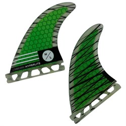 Hyperlite 4.5'' Riot Carbon Surf Fin Kit w​/ Key