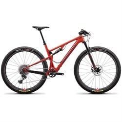 Santa Cruz Bicycles Blur TR CC X01 Reserve Complete Mountain Bike 2019
