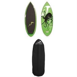 Inland Surfer Tako Wakesurf Board + Inland Surfer Board Sock 2018
