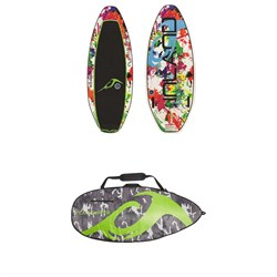 Inland Surfer Mini Me 112 Wakesurf Board - Kids'  ​+ Inland Surfer Board Bag 2018