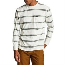 Brixton Hilt Washed Long-Sleeve Pocket T-Shirt