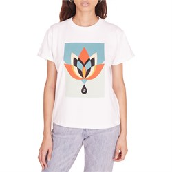 Obey Clothing Geometric Flower T-Shirt - Women's