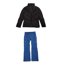 Oakley Snow Down 2L Jacket + Softshell Pants - Women's
