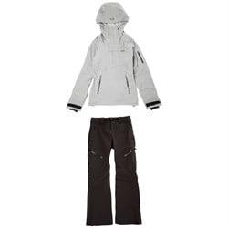 Oakley Snow Shell 3L Anorak Jacket + Softshell Pants - Women's