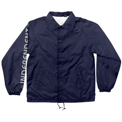 Independent Metallic Bar/Cross Coach Jacket