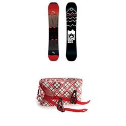 Rome Whiteroom Splitboard 2019 + Spark R&D Splitboard Climbing Skins w/ Tailclips