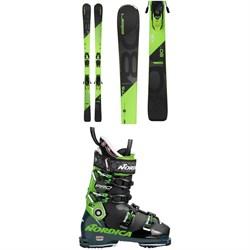 Elan Amphibio 80 Ti + ELX 11.0 Bindings + Nordica Promachine 120 Ski Boots 2019
