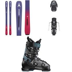 Atomic Vantage 86 C W Skis - Women's + Warden MNC 13 Bindings + Hawx Prime 95 W Ski Boots - Women's 2019
