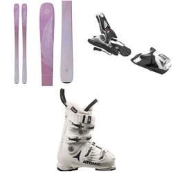 Blizzard Black Pearl 78 Skis - Women s + Look SPX 12 Dual WTR Ski Bindings  2018 + Atomic Hawx Prime 90 W Ski Boots - Women s 2017  1 6b512f154376