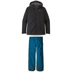 Patagonia Descensionist Jacket + Powder Bowl Pants