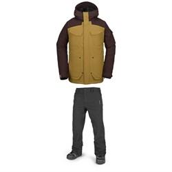 Volcom VCO Inferno Insulated Jacket + Volcom Freakin Snow Chino Pants