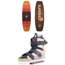 Slingshot Solo Wakeboard ​+ Shredtown Wakeboard Bindings 2019