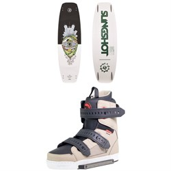 Slingshot The Bishop Wakeboard ​+ Shredtown Wakeboard Bindings 2019